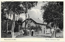 Mackenbach NA1: Pension-Restaurant Feyen 1938 - Saint-Vith - Sankt Vith