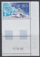TAAF 1994 Cnes Station Satelllite 1v (corner, Printing Date) ** Mnh (40893B) - Franse Zuidelijke En Antarctische Gebieden (TAAF)