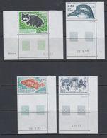 TAAF 1994 Animals 4v (corner, Printing Date)** Mnh (40893F) - Franse Zuidelijke En Antarctische Gebieden (TAAF)