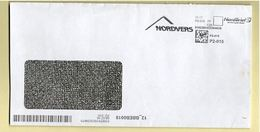 BRD - Privatpost - Umschlag - AFS Nordbrief - Nerdvers - BRD