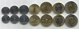 Saudi Arabia 2016. Complete Coin Set Of 7 Coins - Saudi Arabia