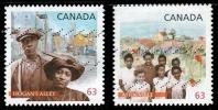 Canada (Scott No.2702 - Voisinage Africains-canadiens / Africain-Canadian Neighborhood)+ (o) Autocollant - 1952-.... Regering Van Elizabeth II