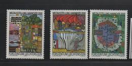 LOT 39 - LIECHTENSTEIN N° 11176/1178 **-  EXPOSITION UNIVERSELLE HANOVRE - 2000 – Hanovre (Allemagne)