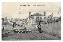 DOURDAN  (cpa 91)  Rue Du Puits Des Champs  -  L 1 - Dourdan