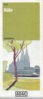 Deutschland Köln Stadtplan ADAC - Cologne
