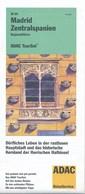 Spanien Madrid Zentralspanien Vallodolid Salamanca Toledo Regionalführer 2002 Strassenkarte Und Erläuterungen ADAC - Spain
