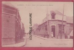 62 - HARNES---Rue J B Laurent Et Le Maroc---animé - Harnes