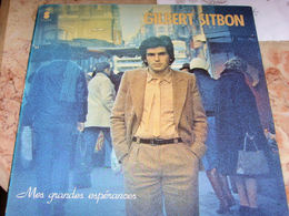 Gilbert SITBON Mes Grandes Espérances,   Chanson - Vinyl Records