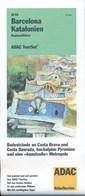 Spanien Barcelona Katalonien Regionalführer 2003 Strassenkarte Und Erläuterungen ADAC - Spain