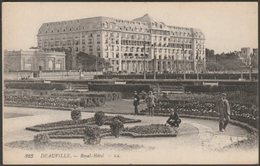 Royal-Hôtel, Deauville, Calvados, 1917 - Lévy CPA LL323 - Field Post Office - Deauville