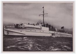 """DT- Reich (002284) Propaganda Sammelbild """"Adolf Hitler"""" Bild 155, Die Windhunde Der Ostsee, Ein Deutsches Schnellboot - Deutschland"""
