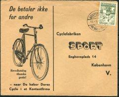1964 Greenland Cyclefabrikn Sport Cover - Denmark. Cycle Bike - Greenland
