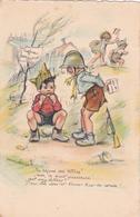 """CP Illustrateur Germaine BOURET-""""LIGNE MAGINOT""""-CP ORIGINALE-Pas Une REPRO.-Ecrite-22 Mai 1940-G.B. Paris 11 - Bouret, Germaine"""