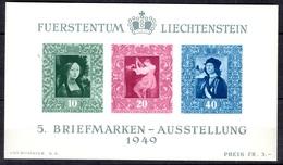 Liechtenstein Bloc-feuillet YT N° 8 Neuf ** MNH. TB. A Saisir! - Blocs & Feuillets