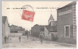 Chantraines - La Rue De Bologne (café De La Gare) - France