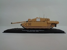 Véhicule  CHALLENGER 2 - 2nd Royal Tank Régiment- Southern Iraq- 2003   1/72- Neuf - Altaya - Voitures, Camions, Bus