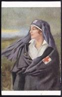 TRES RARE !!! AUX GLORIEUX BLESSES DES AMBULANCES DE MADAME LA DUCHESSE DE VENDÔME - Bataille YZER -  HONNEUR - PATRIE - Guerre 1914-18