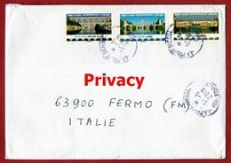 Lettera Dalla Francia Per Italia  Letter From France To Italy Ponti Bridges - Ponti