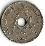 1 Pièce De Monnaie 10 Centimes 1921 Belgique NLD - 1909-1934: Albert I
