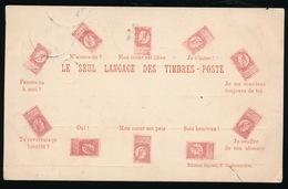 LE SEUL LAGAGE DES TIMBRES POSTE  - BELGISCHE ZEGELS - Timbres (représentations)