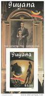Guyana Hb Michel 65B Al 70B SIN DENTAR - Ete 1992: Barcelone