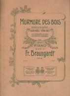 Spartito MURMURE DES BOIS - WALDESRAUSCHEN - Idylle - FR. BRAUNGARDT - MAYENCE - Spartiti