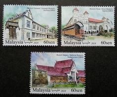 Malaysia Historical Museums 2018 Museum Art Artifacts Train Coach (stamp) MNH - Malaysia (1964-...)