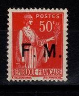 FM - Variété YV 7 N** Avec 1ere Barre Du M Maigre Cote 20+ Euros - Franchise Stamps