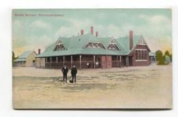 Warracknabeal, Victoria - State School - Early Australia Postcard - Australia