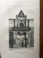(Normandie) Le Havre: Notre-Dame Du Havre. Lithographie De 1840. - Normandie