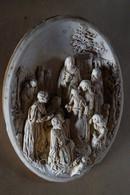 Très Belle Et Très Ancienne Sculpture,originale,signature A Identifier,dimensions,30 Cm. Sur 22 Cm. - Sculptures