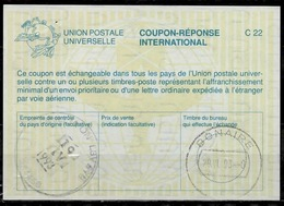 CANADA La26 International Reply Coupon Reponse Antwortschein IAS IRC O ORILLIA STATION 19.4.93 Redeemed BONAIRE Dutch An - Antwortcoupons