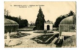CPA 37 Indre Et Loire Ballan Château Des Touches Les Serres - Ballan-Miré