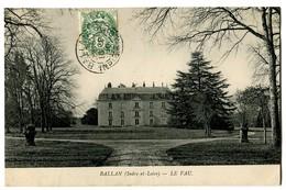 CPA 37 Indre Et Loire Ballan Le Vau - Ballan-Miré