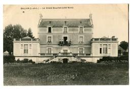 CPA 37 Indre Et Loire Ballan Le Grand Bouchet - Ballan-Miré