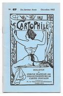 Bulletin Du Cercle Français Des Collectionneurs De Cartes Postales N°67  Décembre 1982 - Français