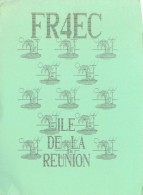 CARTE QSL - RADIO AMATEUR - ILE DE LA REUNION -  1990 - Amateurfunk