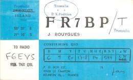 CARTE QSL - RADIO AMATEUR - LE TAMPON 97430 ILE DE LA REUNION - 1980 - Amateurfunk