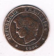 5 CENTIMES 1896 AFRANKRIJK /6614/ - France