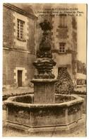 CPA 37 Indre Et Loire Château De Plessis-les-Tours Fontaine Du Couvent Des Minimes Du Plessis - France