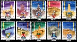 Canada (Scott No.1973-77 Et Plus - Universités / Universities) (o) Série / Set - 1952-.... Règne D'Elizabeth II