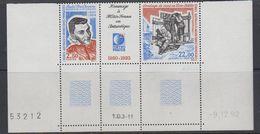 TAAF 1993 Meteo France Strip 2v + Label (corner, Printing Date) ** Mnh (40893D) - Franse Zuidelijke En Antarctische Gebieden (TAAF)
