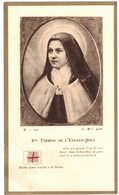 IMAGE PIEUSE RELIGIEUSE HOLY CARD SANTINI HEILIG PRENTJE RELIQUIA : STE THERESE DE L'ENFANT JESUS - Imágenes Religiosas