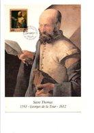 DOCUMENT FDC 1993 SAINT THOMAS PAR GEORGES DE LA TOUR - 1990-1999