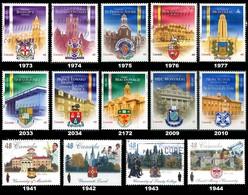 Canada (Scott No.1941 / 2010 Et Plus - Universités / Universities)+ (o) Série / Set - 1952-.... Règne D'Elizabeth II