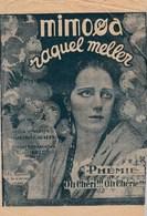 Partition Ancienne Mimosa Raquel Meller 1923  Phémie Sergius Oh Chéri !!! Oh Chérie!!! Nina Myral Robert Burnier  ... - Music & Instruments
