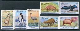 Y85 VIETNAM 1985 1580u-1586u Argentina'85. Animals Fauna. Penguins. Ostriches. Cheetahs Predator Birds - Other