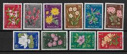 CHINA / MACAO - YVERT N° 363/372 ** MNH - COTE = 80 EUR. - FLORE - Macao