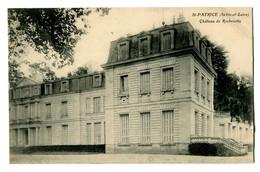 CPA 37 Indre Et Loire Saint-Patrice Chateau De Rochecotte - France