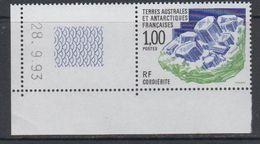 TAAF 1994 Minerals / Cordierit 1v (corner, Printing Date) ** Mnh (40893F) - Franse Zuidelijke En Antarctische Gebieden (TAAF)